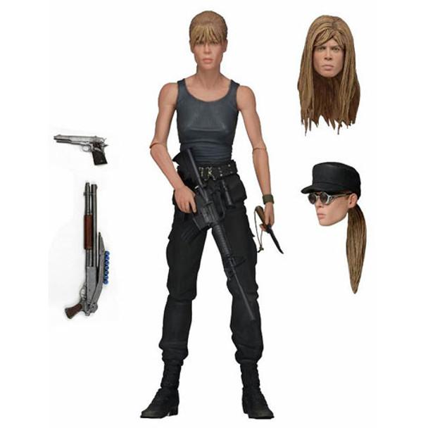 Terminator 2 Sarah Connor Deluxe 7-Inch Action Figure