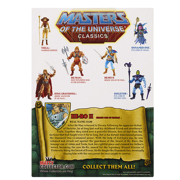 Masters Of The Universe Classics He-Ro II Figure