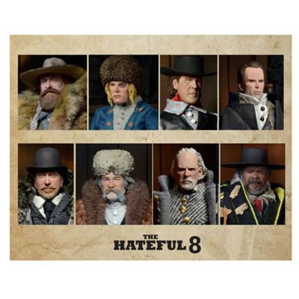 The Hateful Eight Movie 8-Inch Clothed Action Figure Set