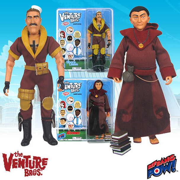 The Venture Bros. Shore Leave and The Alchemist 8-Inch Action Figures