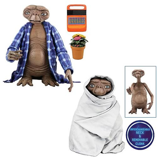 E.T. Series 2 7-Inch Action Figure Set
