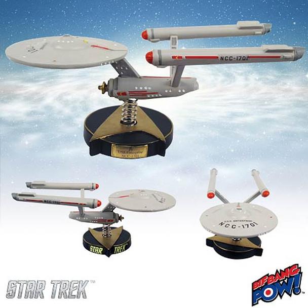 Star Trek The Original Series U.S.S. Enterprise NCC-1701 Bobble Ship