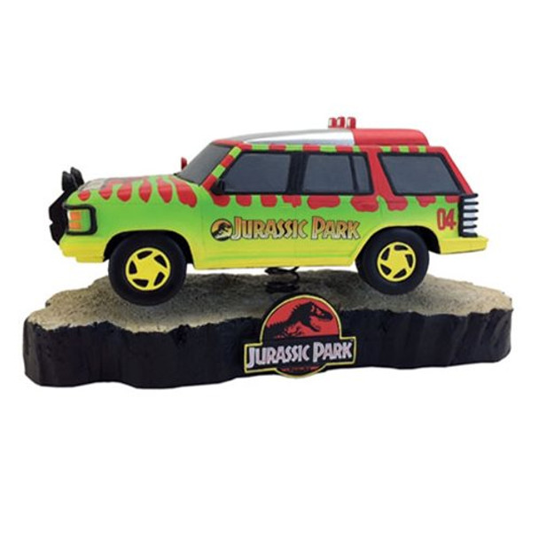 Jurassic Park Park Explorer Vehicle Premium Motion Statue
