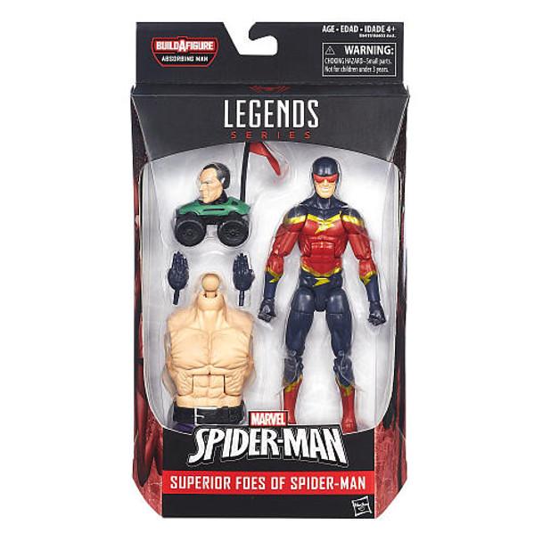 Marvel Legends: Superior Foes Of Spider-Man: Speed Demon Action Figure