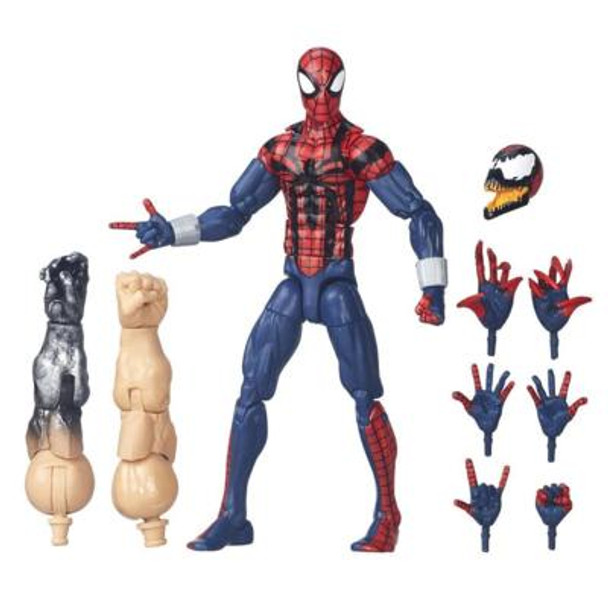 Marvel Legends: Edge Of Spider-Verse: Ben Reilly Spider-Man Action Figure