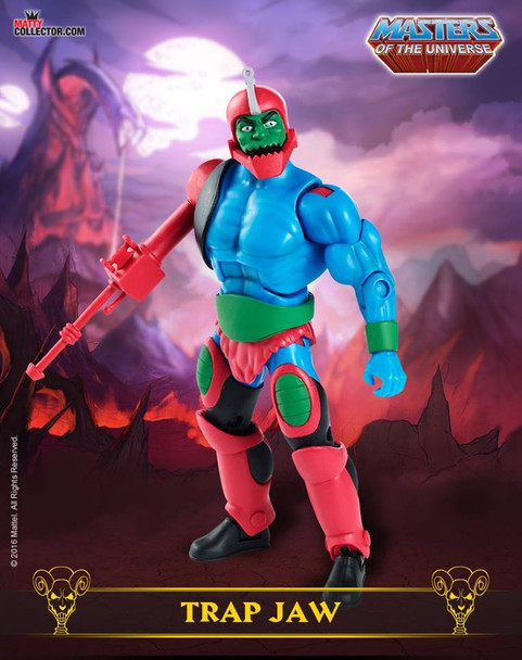 Masters of the Universe Club Grayskull Trap Jaw Action Figure