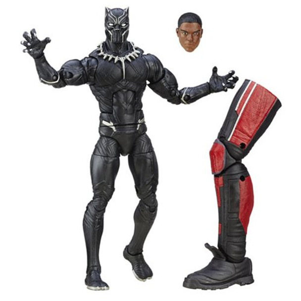 Captain America Civil War Marvel Legends Black Panther Action Figure