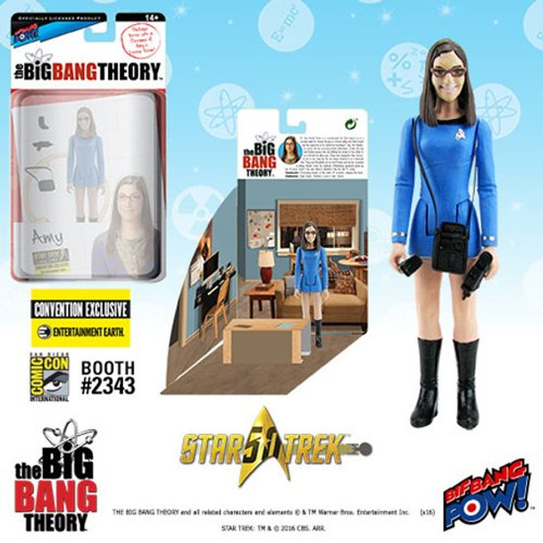 The Big Bang Theory Star Trek Amy 3 3/4-Inch Figure