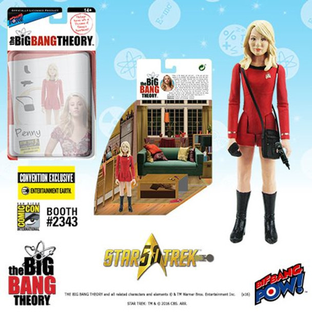 The Big Bang Theory Star Trek Penny 3 3/4-Inch Figure