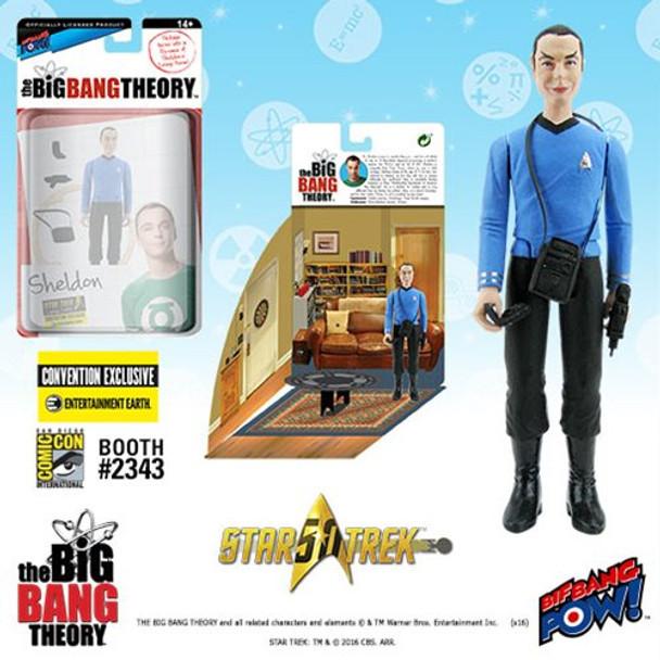 The Big Bang Theory Star Trek Sheldon 3 3/4-Inch Figure
