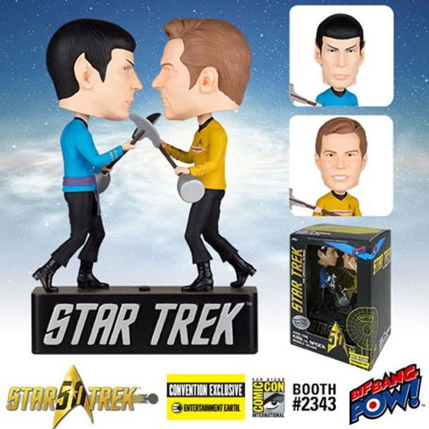 Star Trek: The Original Series Amok Time Kirk vs. Spock Bobble Heads