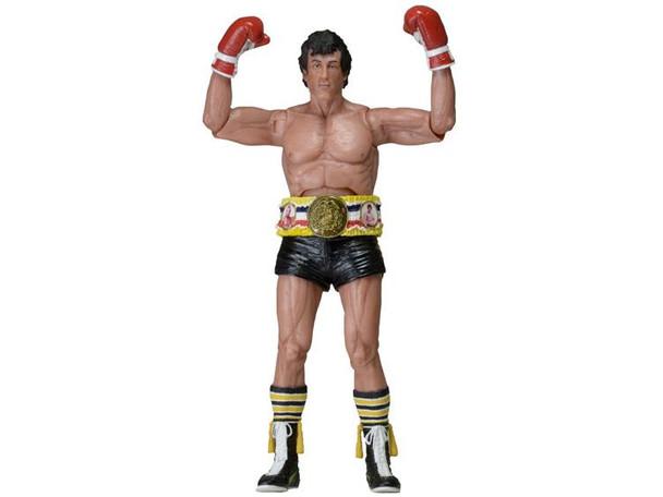 Rocky 40th Anniversary 7-Inch Series 1 Rocky III Black Trunks Figure