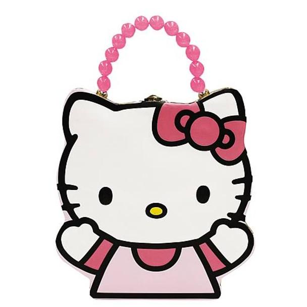 Hello Kitty Head Shaped Tin Lunch Box