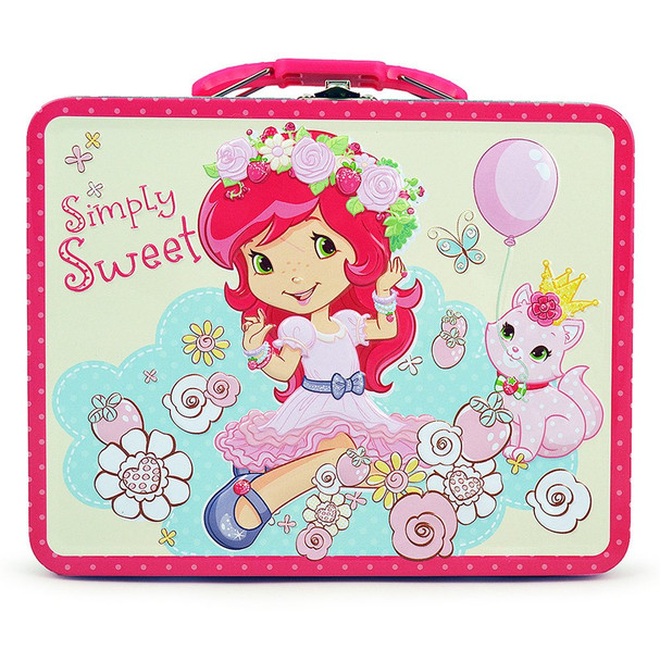 Strawberry Shortcake Simply Sweet Embossed Lunch Box