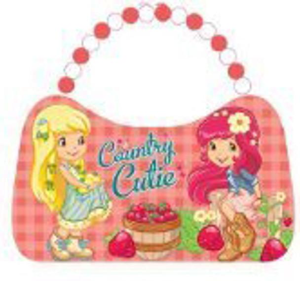 Strawberry Shortcake Country Cutie Scoop Purse Tin Tote