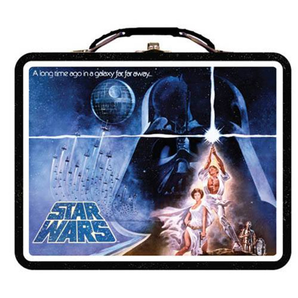 Star Wars A New Hope Embossed Lunch Box