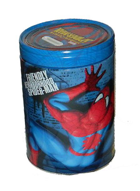 Spider-Man Friendly Neighborhood Spider-Man Round Tin Coin Bank
