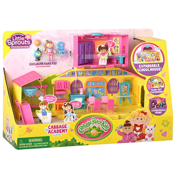 Cabbage Patch Kids Little Sprouts Cabbage Academy Playset