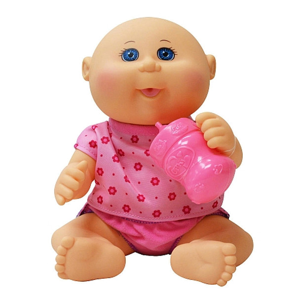 Cabbage Patch Kids - Drink N'Wet Newborn - Bald Caucasian Girl