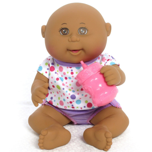 Cabbage Patch Kids - Drink N'Wet Newborn - Dark Tone Newborn