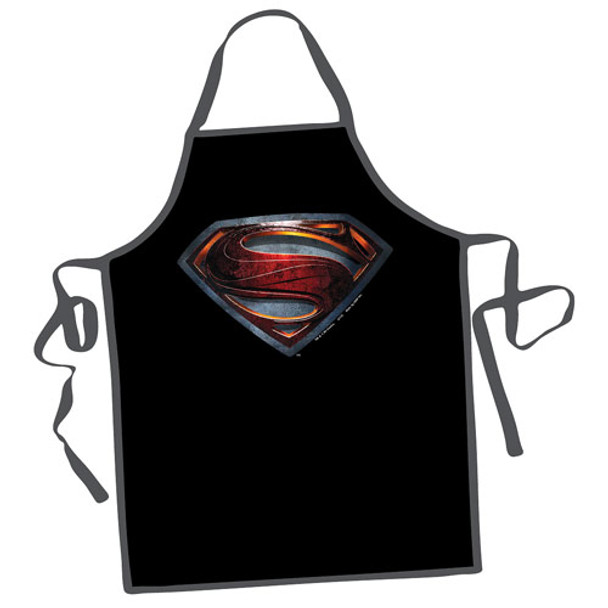 Superman Man of Steel Logo Apron
