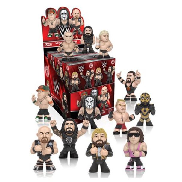 WWE Mystery Minis Series 2 Mini-Figure Random 4-Pack