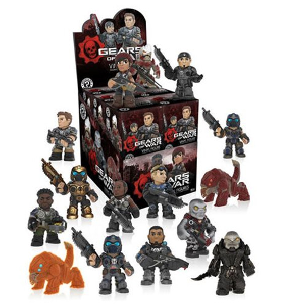 Gears of War Series 1 Mystery Minis Mini-Figure Random 4-Pack