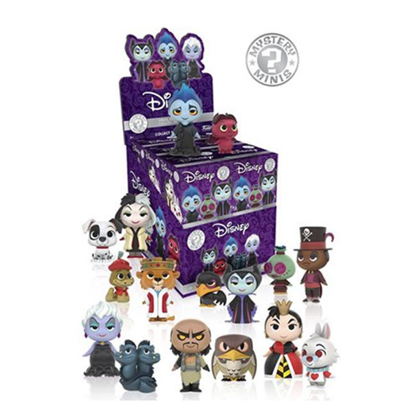 Disney Villains Mystery Minis Wave 1 Random 4-Pack