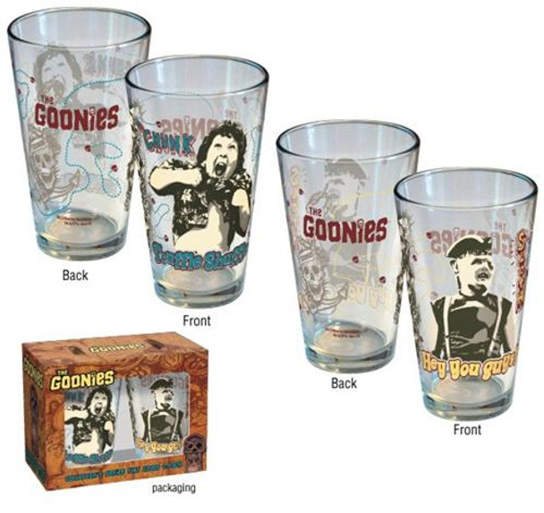 The Goonies 2-pk Pint Glass Set