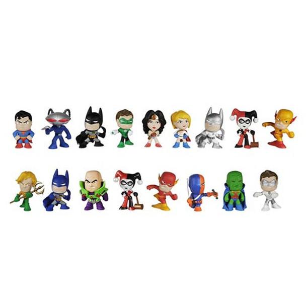 DC Comics Mystery Minis Vinyl Mini-Figure 4-Pack