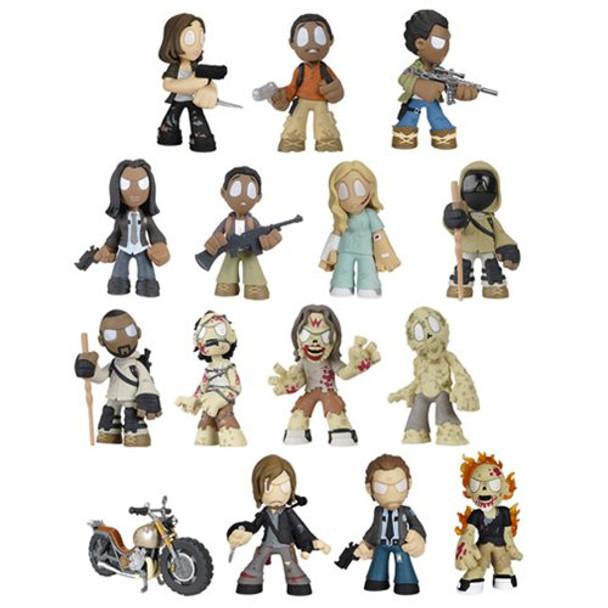 The Walking Dead Mystery Minis Series 4 Random 4-Pack