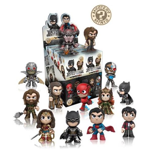 Justice League Movie Mystery Minis Random 4-Pack