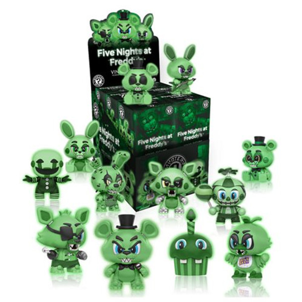 Five Nights at Freddy's GITD Mystery Minis Series 1 4-Pack