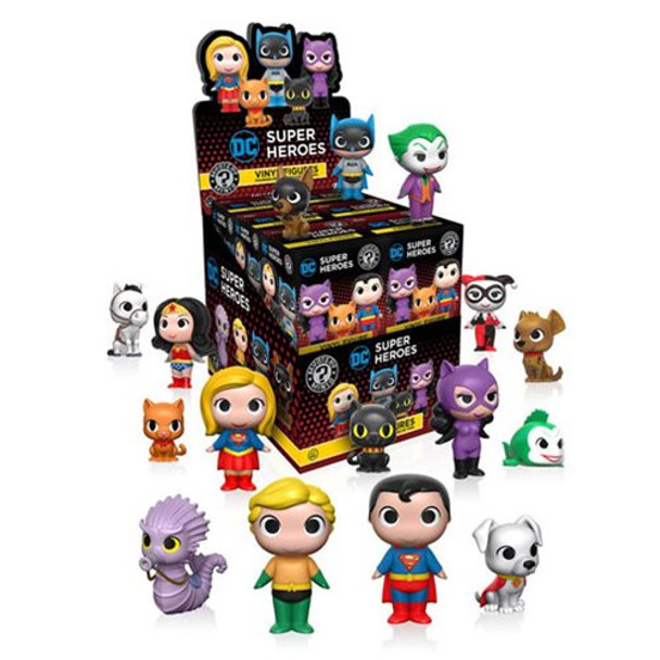DC Heroes and Pets Mystery Minis Series 1 Random 4-Pack