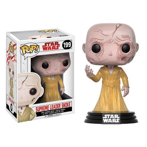 Star Wars: The Last Jedi Supreme Leader Snoke Pop! Vinyl Bobble Head