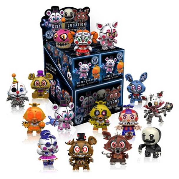 Five Nights at Freddy's Mystery Minis Series 2 Random 4-Pack