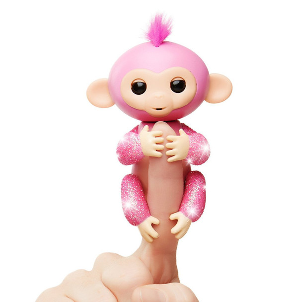 Fingerlings Glitter Monkey - Rose (Pink Glitter)