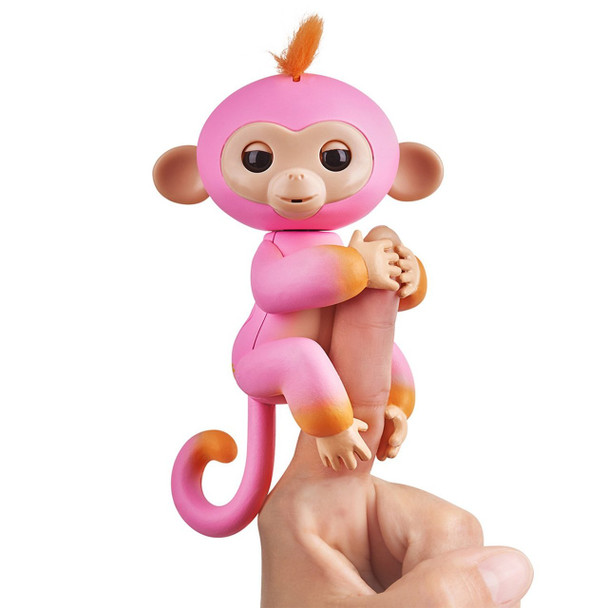 Fingerlings 2Tone Monkey - Summer (Pink with Orange accents)