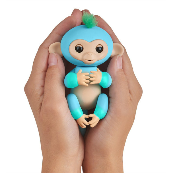 Fingerlings 2Tone Monkey - Charlie (Blue with Green accents)