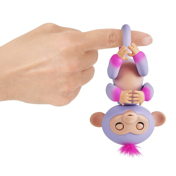 Fingerlings 2Tone Monkey - Sydney (Purple with Pink accents)