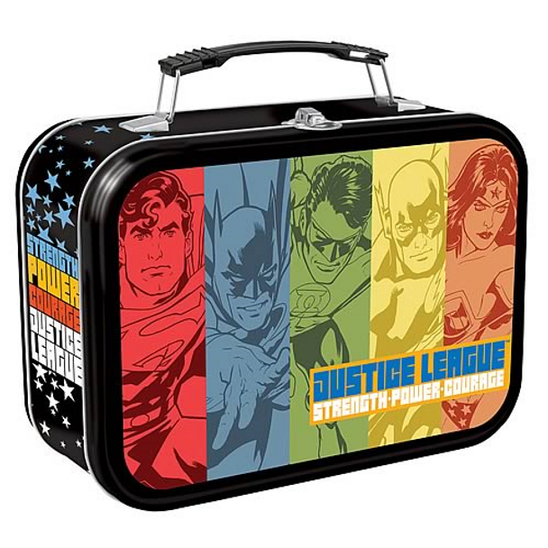 Justice League Extra Large Tin Tote
