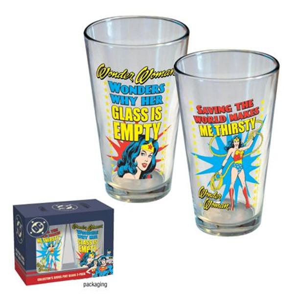 Wonder Woman Pint 2-Pack
