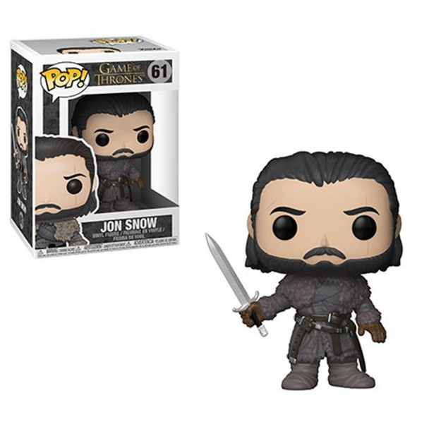 Game of Thrones Jon Snow Beyond the Wall Pop! Vinyl Figure #49