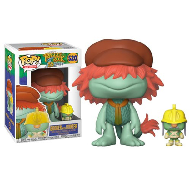 Fraggle Rock Boober with Doozer Pop! Vinyl Figure #520