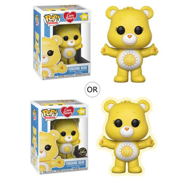 Care Bears Funshine Bear Pop! Vinyl Figure #356