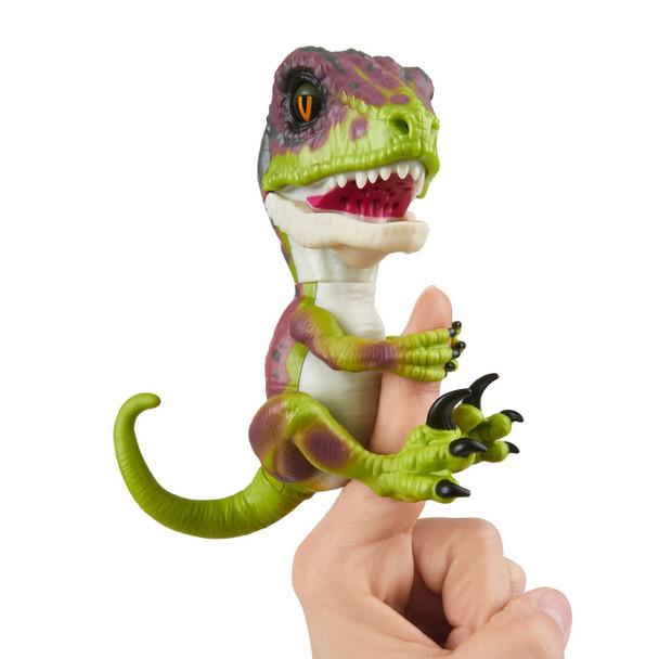 Fingerlings Untamed Dinosaur Stealth the Velociraptor Figure (Lime Green)
