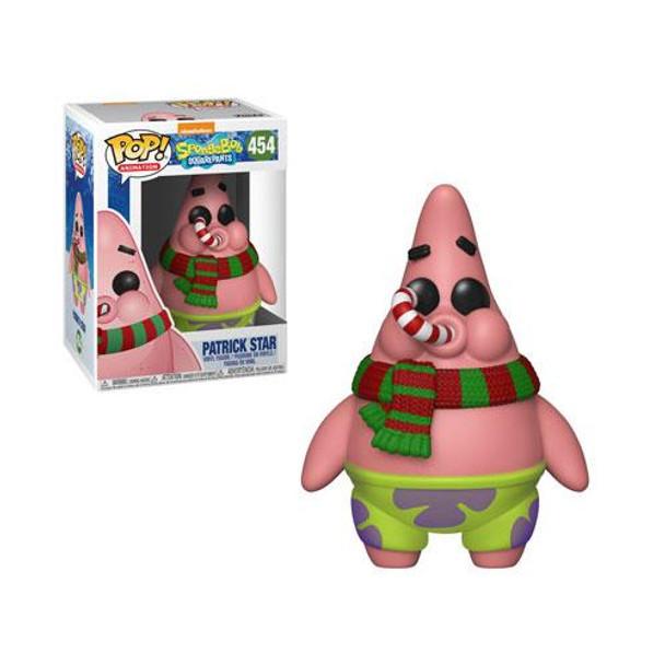 SpongeBob SquarePants Christmas Patrick Pop! Vinyl Figure #454