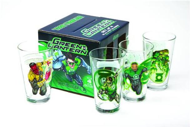 Green Lantern Boxed Set Toon Tumblers