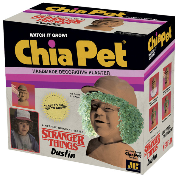 Stranger Things Dustin Chia Pet