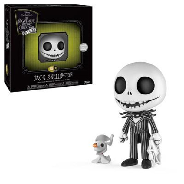 The Nightmare Before Christmas Jack Skellington 5 Star Vinyl Figure